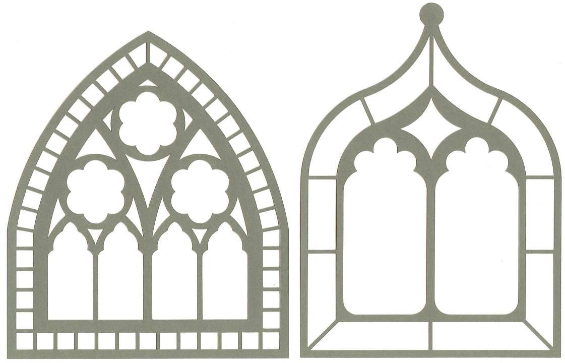 gothic windows frames images. Black Bedroom Furniture Sets. Home Design Ideas