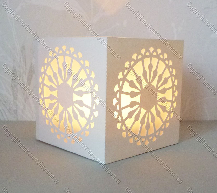 Tea light box 15