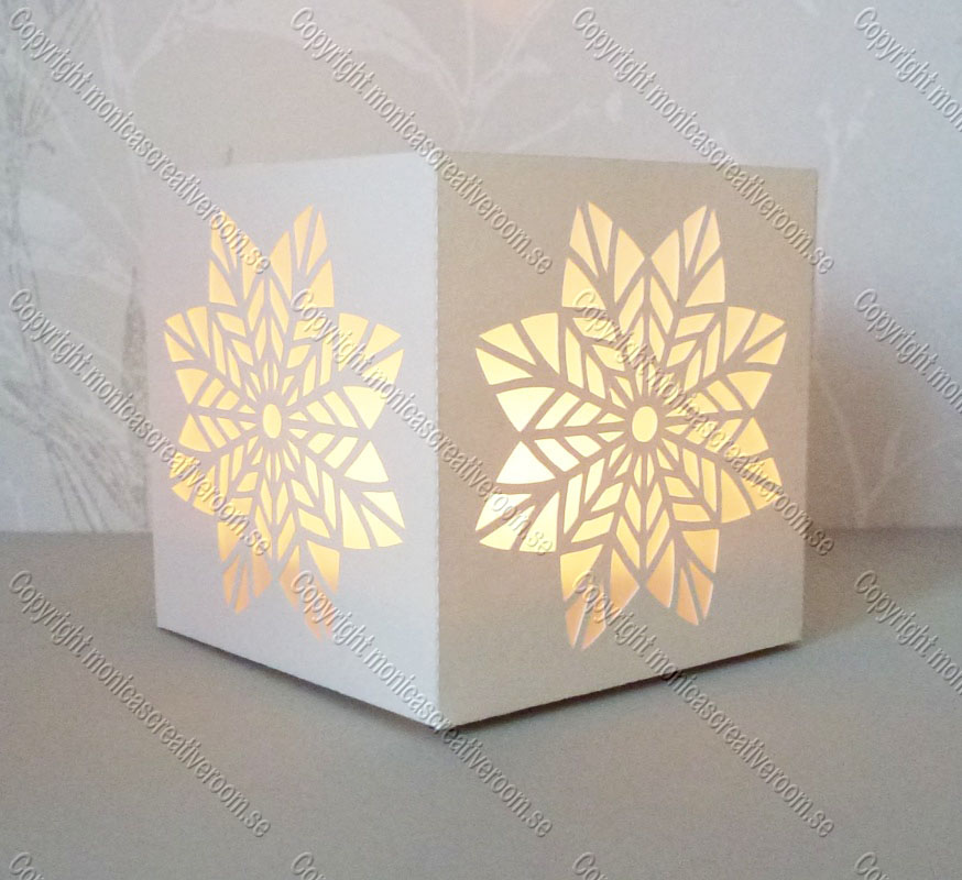 Tea light box 17